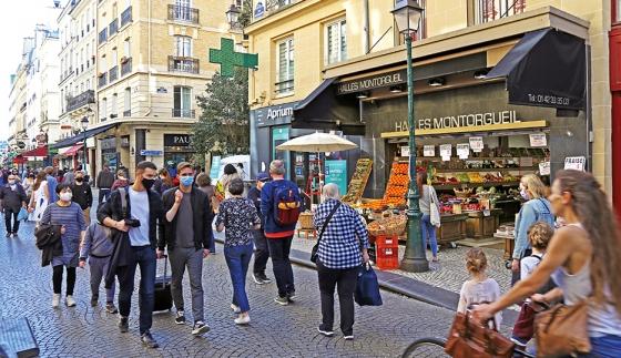 Rue Montorgueil, Paris 2e arr. © Apur - François Mohrt
