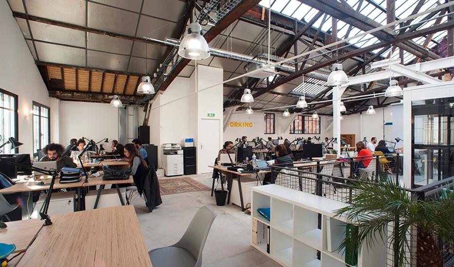 Co-working space © Hélène Freudiger