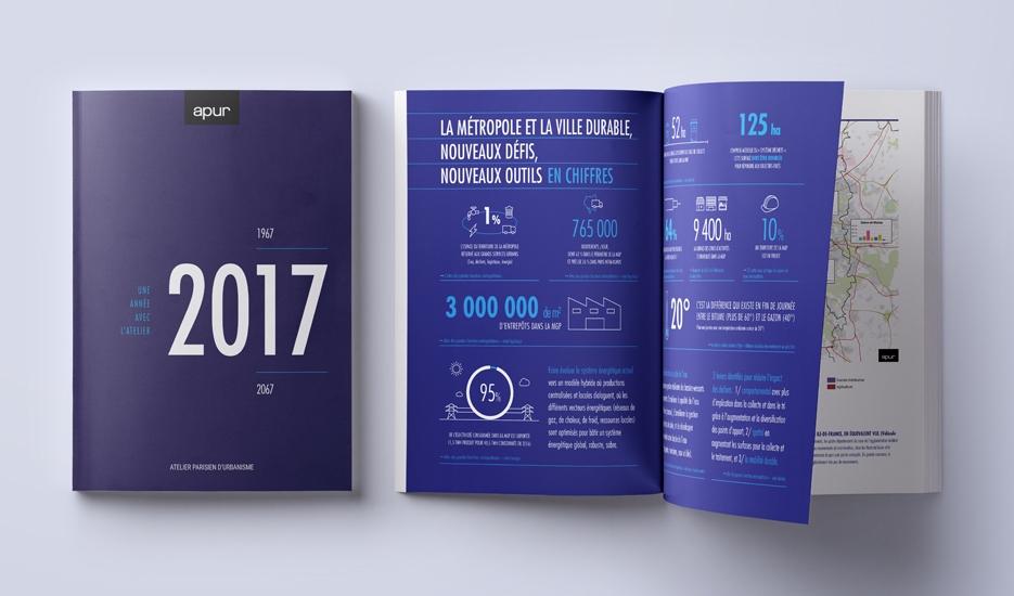 Rapport d'activités 2017 © Apur