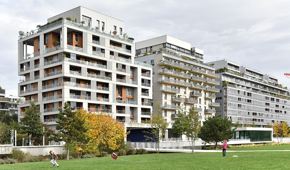 Trapèze district in Boulogne Billancourt © Apur - David Boureau