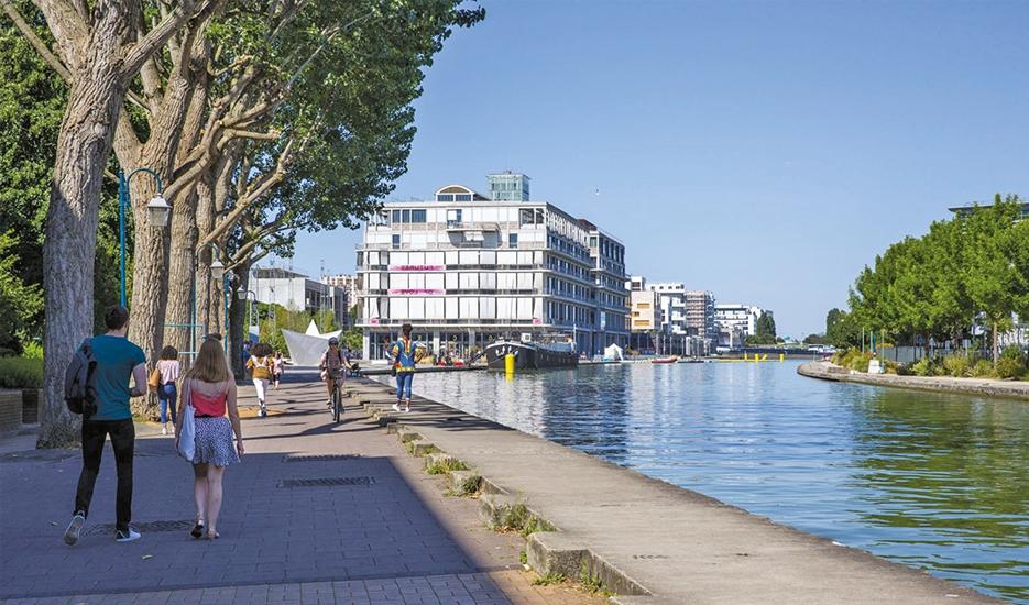 Canal de l'Ourcq - juillet 2019 © Apur - Bertrand Guigou