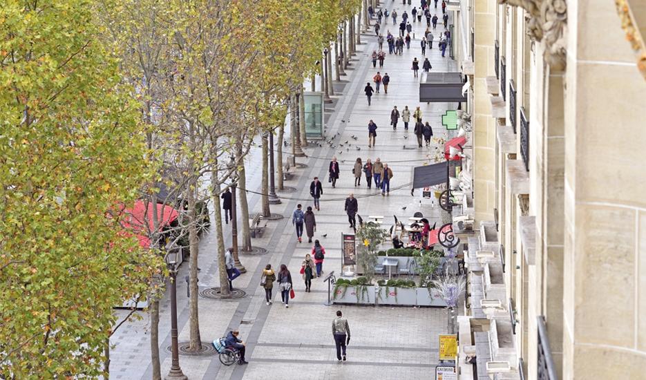 Avenue des Champs-Élysées (8e) © Apur - David Boureau