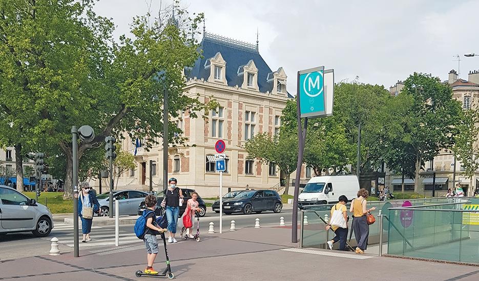 Station Mairie de Montrouge (ligne 4) © Apur