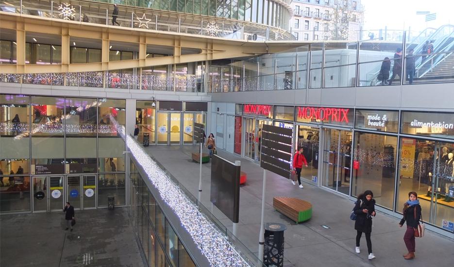 Entrance of Forum des Halles (Paris 1) © Apur - B. Bouvier