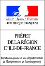 Logo partenaire - Direction Régionale et Interdépartementale de l'Equipement et de l'Aménagement d'Ile-de-France