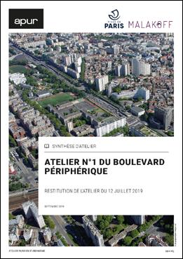 Atelier n°1 du Boulevard périphérique - Restitution de l'atelier du 12 juillet 2019 © Apur